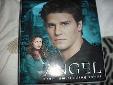 Angel Season 1  tv series season 1 basic trading cards and  Trading Card Binder