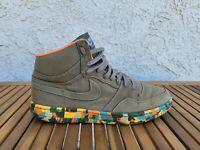 Nike Court Force Hi Shoes Size 13 Canvas Green 311206-331  Men's