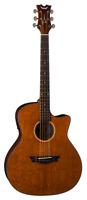 Dean AX E LACEWOOD Acoustic-Electric Cutaway Guitar, Natural