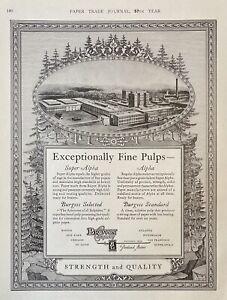 1929 AD(L10)~BROWN CO. PORTLAND, MAINE. SUPER ALPHA FINE PAPER PULP