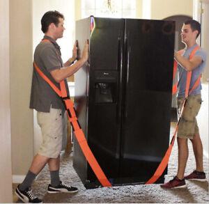 New Useful Lifting Moving Strap Furniture Transport Belt In Shoulder Straps Team