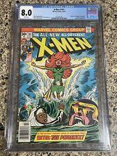 X-MEN #101 CGC 8.0 1st Appearance PHOENIX!!(1976) Perfect Wrap! White Pages