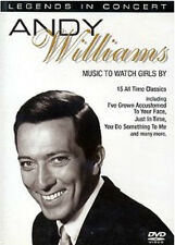 Andy Williams Music To Watch Girls By DVD NEW SEALED