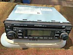CAR RADIO- genuine Hyundai-MP3,am/fm,CD-will post