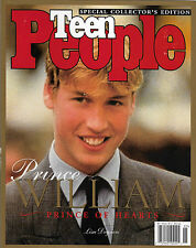 William:  Prince of Hearts December 1998 Teen People Special Collector's Edition