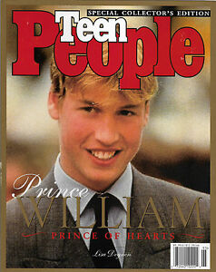William Prince of Hearts 1998 Teen People Magazine Special Collector's Edition