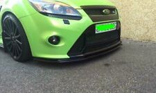 FORD FOCUS RS MK2 FACELIFT (HIGH GLOSS BLACK) FRONT SPLITTER (2008-2011)