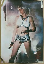 RARE WENDY O WILLIAMS WOW 1984 VINTAGE ORIGINAL PUNK MUSIC STORE PROMO POSTER