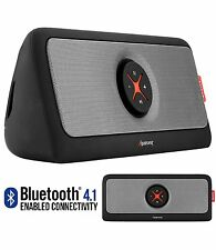 30W Portable Wireless Bluetooth 4.1 Stereo Speaker w/ Subwoofer & Power Bank