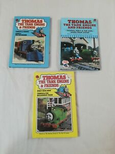 Thomas The Tank Engine And Friends Vintage Ladybird Books 1980s