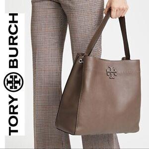 Tory Burch McGraw hobo Bag Carry all handbag Red