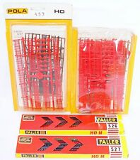 Faller + Pola Germany HO 1:87 4x UNIVERSAL HOUSE FENCE & FENCES Model Kit MIB!