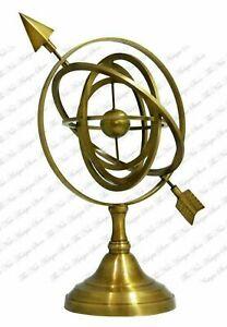 Brass Armillary Sphere Table Decor Armilliary Globe Sphere functional armillary