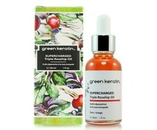 Green Keratin Supercharged Triple Organic Rosehip Oil 30ml