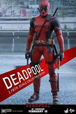 Hot Toys DEADPOOL Sixth Scale Figure MMS347  Brand New