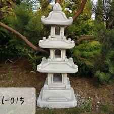 88cm tall!!Stone/Concrete Pagoda Garden Ornament Chinese/Japanese Lantern/Lamp