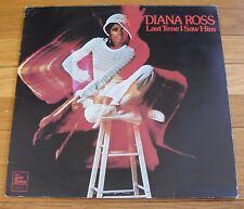 Diana Ross 1973 EMI Ltd. Tamla Motown U.K. 33 RPM Stereo LP Last Time i Saw Him