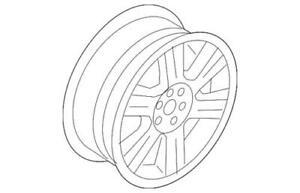 Genuine Ford Spare Wheel 5T2Z-1015-EA