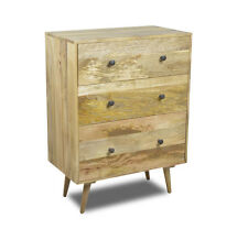 LIGHT RETRO CHIC CHEST OF DRAWERS (RC4L)