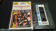 THE ROLLING STONES Vol.1 STORY OF THE STONES *STRANGE MC TAPE*UNKNOWN UFO LABEL*