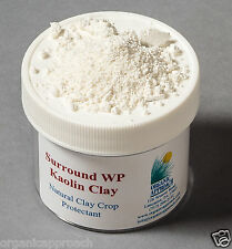 Surround® WP Kaolin Clay - Organic Pest Suppression - Plant Sun protection -25lb