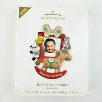 Hallmark Keepsake Baby's First Christmas Ornament 2012