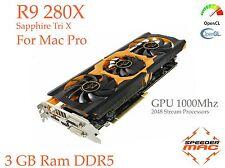  R9 280X pour Apple Mac Pro,  3GB Ram ,GPU 1000Mhz 5 Gt/s, 4k, > HD 7970 / 7950