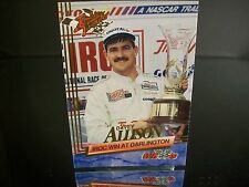 Rare Davey Allison Wheels Rookie Thunder 1993 Card #56 IROC WIN AT DARLINGTON