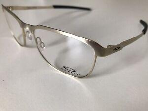 Oakley OX3244 Eyeglasses RX Men, Satin Light Gold 55mm *New & Authentic