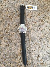 Fossil Disney Toy Story Collectible Leather Wrist Watch 1996 Buzz & Wood New