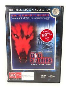 Dog Soldiers (DVD, 2002) Sean Pertwee RARE Region 4 Free Postage