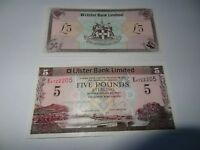 ULSTER BANK LIMITED £5 NOTE 1st January /2013 Uncirculated