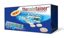 NUEVO!! THECOINTAINER CAJA 100 BLISTERS PORTAMONEDAS DE 0'10 EURO (11405)