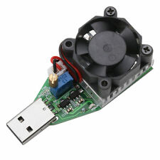 15W 3.7~13V DC USB Adjustable Discharger Constant Current Electronic Load
