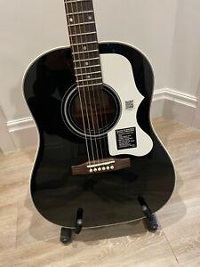Epiphone Masterbilt AJ-45ME Electro Acoustic Solid Mahogany RARE Ltd Black Ebony