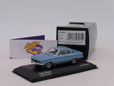 "Minichamps 400045500 # Opel Manta A Baujahr 1971 in "" monzablaumetallic "" 1:43"