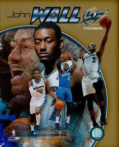 John Wall Washington Wizards NBA Licensed Unsigned 8x10 Glossy Photo C