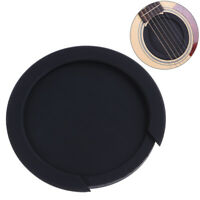 3 Sizes Silicone Acoustic Classic Guitar Feedback Buster Sound Hole Cov_ti