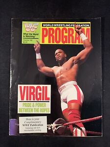 WWF WWE Program Volume 192 Virgil IRS Warrior Hulk Hogan Undertaker Snake Sleeve