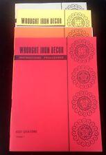 Wrought Iron Decor Instruction Procedures Kosy Creations 4 Vol Set Paperback HTF