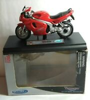 WELLY 1:18 SCALE DIECAST 2002 TRIUMPH SPRINT ST MOTORBIKE - #12174 - BOXED