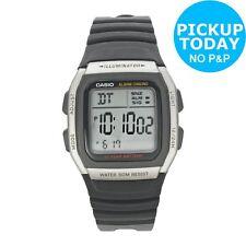Casio Men's Power LCD Digital Smart Watch - Black.