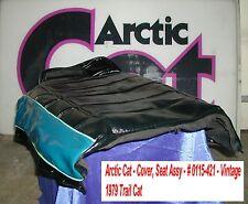 Arctic Cat Seat Cover Ass'y # 0115-421 1979 Trail Cat Vintage