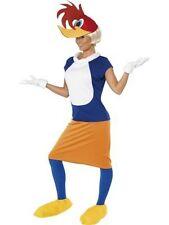 Winnie Woodpecker Dress with Hat - Cartoon Character Costume - Adult Medium