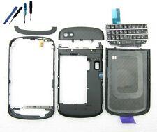 Replacement Full Housing Keypad Cover & Frame for Blackberry Q10 Black+tools