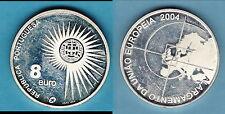 PORTUGAL 8 EURO 2004   13 GR 8 GRAMMES ARGENT