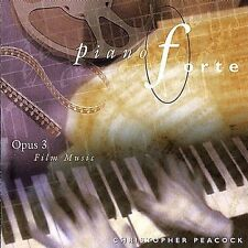 Film Music Piano Forte-Opus 3 by Peacock, Christopher