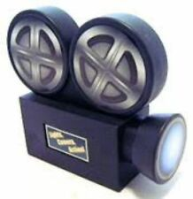 At The Movies - PLASTIC COIN BANK Hollywood Award OSCARS Themed Party DECOR 3-1c