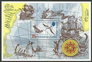 TRISTAN DA CUNHA SGMS192 1974 LONELY ISLAND MNH