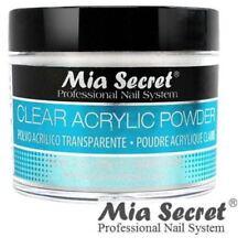 Mia Secret Acrylic Nail Powder Professional Nail System Size: 2 oz Clear - USA